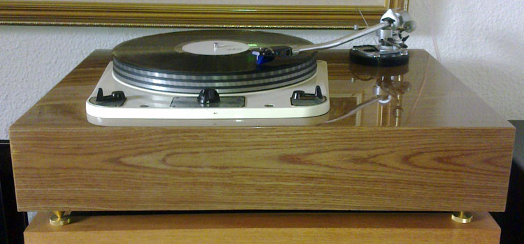 Garrard 301 with French Walnut