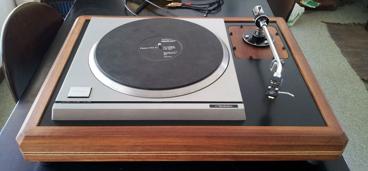 Technics SP10 MkII in Kiaat & Birch