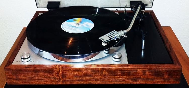 Thorens TD150 with Bubinga