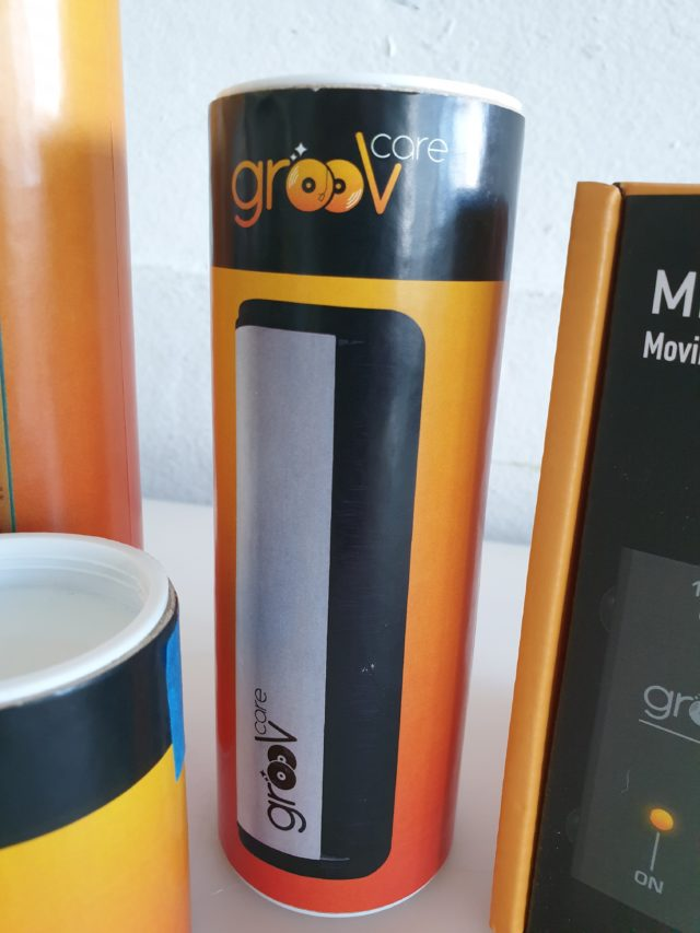 GroovCare Record Brush