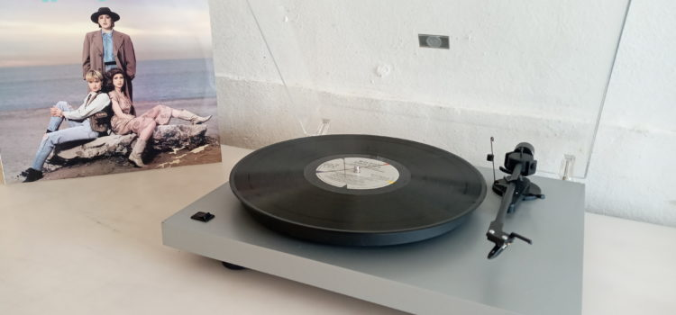 Sold: Project Debut II Turntable in Silver